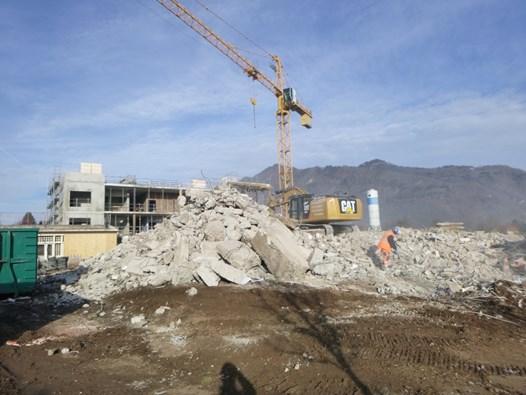 Maîtrise d'oeuvre de désamiantage et déconstruction dans un hopital de Haute-Savoie