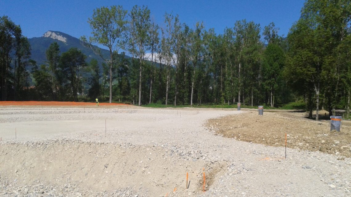 maîtrise d'oeuvre de dépollution d'une ancienne décharge de Savoie