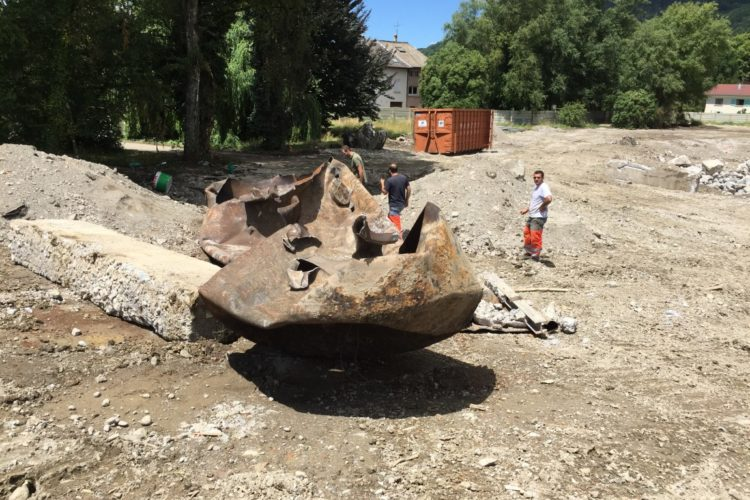 études environnementales sur le site d'un ancien Centre Hospitalier de Haute-Savoie